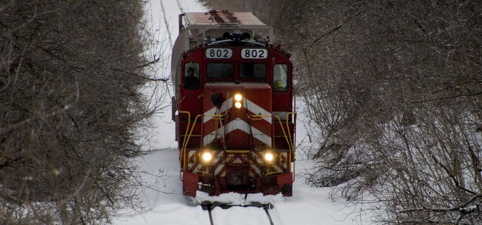 Vermont Rail locomotive